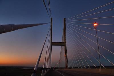Photograph - Dawn At The Bridge by Kathryn Meyer