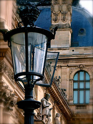 Dawn At The Louvre Original by Ira Shander