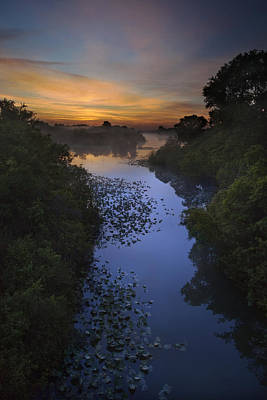 Photograph - Dawn At The Stream by Al Hurley