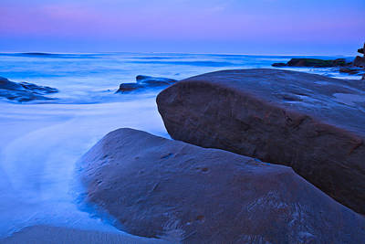 Photograph - Dawn At Windansea Beach by Ben Graham
