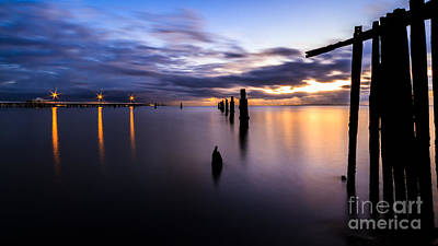 Photograph - Dawn Breaks Over The Pier by Peta Thames