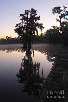 Photograph - Dawn By The River by Steven Parker