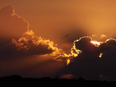 Photograph - Dawn Cloudscape by Matt Swann
