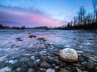 Pink Cloud Photograph - Dawn by Davorin Mance