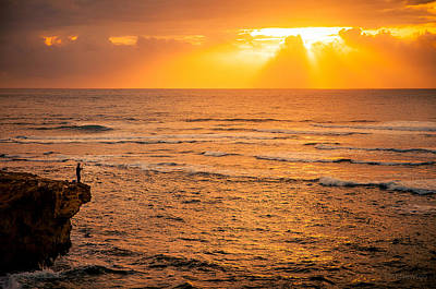 Photograph - Dawn Fisherman by Tim Newton