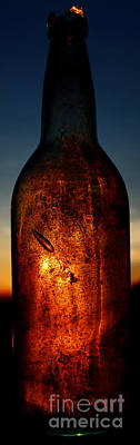 Color Photograph - Dawn In A Bottle by Wesley Hahn
