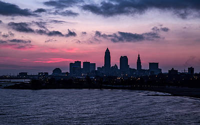 Photograph - Dawn In Cleveland Ohio by Dale Kincaid