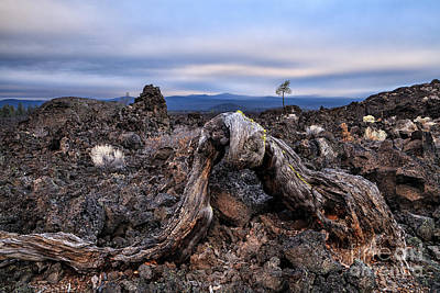 Photograph - Dawn In The Lava Bed by Stuart Gordon