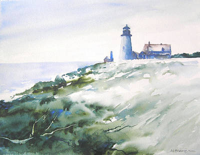 Painting - Dawn Light At Pemaquid by William Beaupre