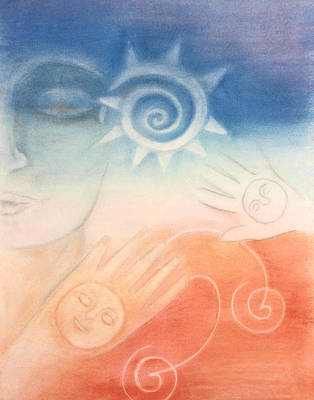 Regeneration Painting - Dawn Meditation  by Diana Perfect