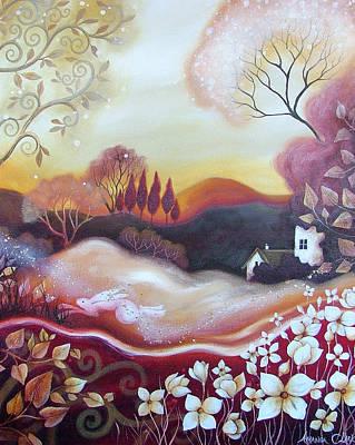 Amanda Clark Painting - Dawn Of Autumn by Amanda Clark