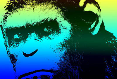 Door Locks And Handles - Dawn of the Planet of the Apes - Blue by Chris Smith