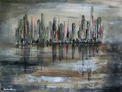 Dawn On Flooded World Art Print