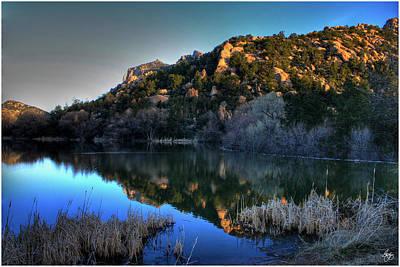 Photograph - Dawn On Prescott Lake by Wayne King