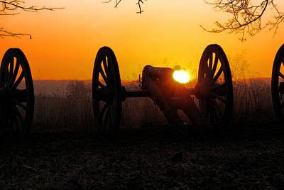 Dawn On The Battlefield Art Print