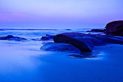 Photograph - Dawn On The Beach by Ben Graham