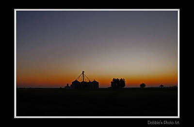 Photograph - Dawn On The Farm by Debbie Portwood