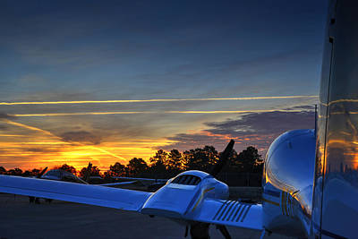Dawn On The Ramp 02 Art Print