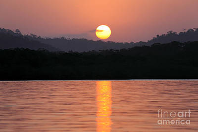 Dawn Over Darien Art Print