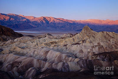 Photograph - Dawn Over Death Valley by Brian Jannsen