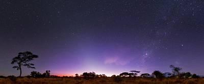 Dawn Over Mount Kilimanjaro Art Print