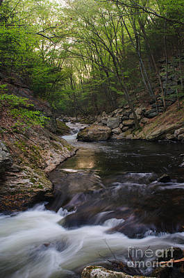 Connecticut Photograph - Dawn Over Roaring Brook by JG Coleman