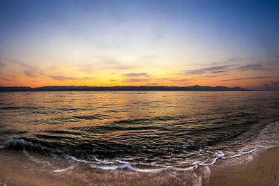 Photograph - Dawn Over The Red Sea by Mark E Tisdale