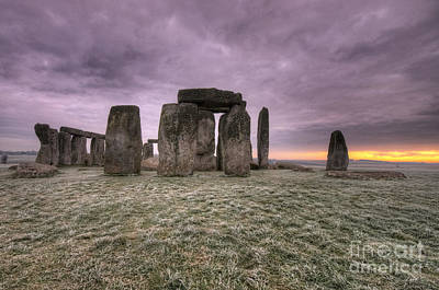 Dawn Over The Stones  Print by Rob Hawkins