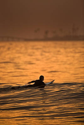 Photograph - Dawn Paddle Out  C6j2356 by David Orias