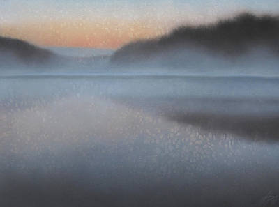 Painting - Dawn Parts The Mist by Robin Street-Morris