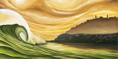 Painting - Dawn Patrol by Ronnie Jackson