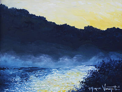 Painting - Dawn Reflections by Monica Veraguth