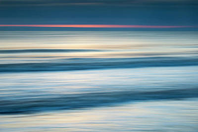 Photograph - Dawn Seascape Abstract by Photos By R A Kearton