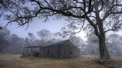 Photograph - Dawn Shack by Steve Caldwell