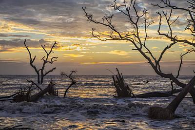 Photograph - Dawn Silhouettes 05 by Jim Dollar