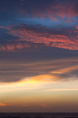 Photograph - Dawn Sky Colors In Layers by Paul Rebmann