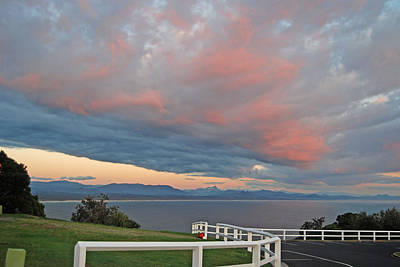 Photograph - Dawn View At The Lighthouse @ Byron Bay Over Wollumbin by Ankya Klay