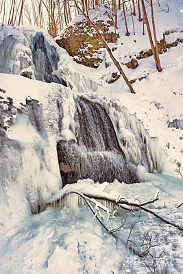Photograph - Dawning On Sherman Falls by Barbara McMahon