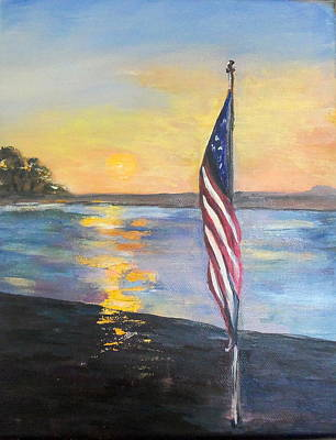 Painting - Dawns Early Light by Maureen Pisano