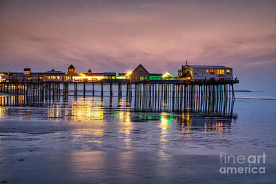Old Orchard Beach Photograph - Dawns Early Light by Scott Thorp