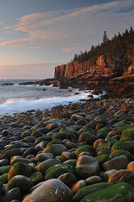 Mt. Desert Island Photograph - Dawn's Early Light by Stephen  Vecchiotti