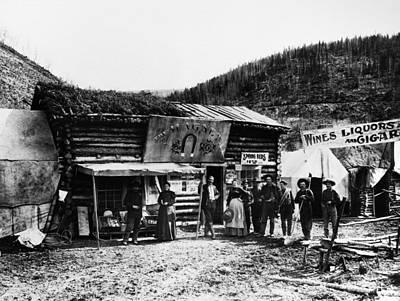 Dawson City, C1898 Art Print by Granger