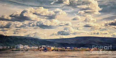 Mining Photograph - Dawson City by Priska Wettstein