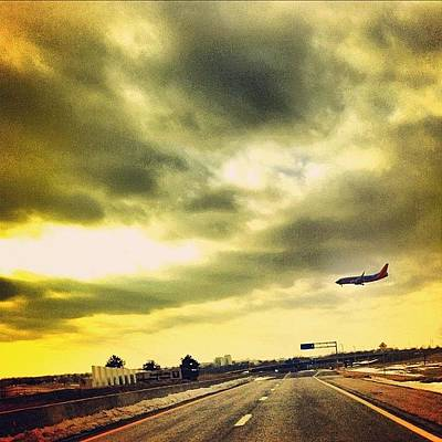 Jet Photograph - Day 5 - Movement - Southwest Flight by Brian Lea