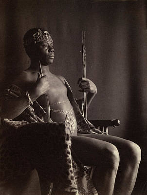 Pictorialism Photograph - Day African Chief, C1896 by Granger
