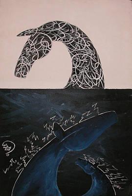 Day And Night Art Print by Ali ArtDesign
