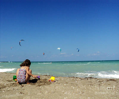 South Hutchinson Island Photograph - Day At The Beach No2 by Megan Dirsa-DuBois