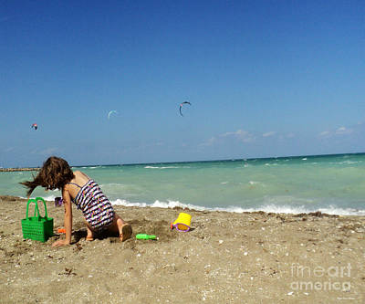 South Hutchinson Island Photograph - Day At The Beach No3 by Megan Dirsa-DuBois