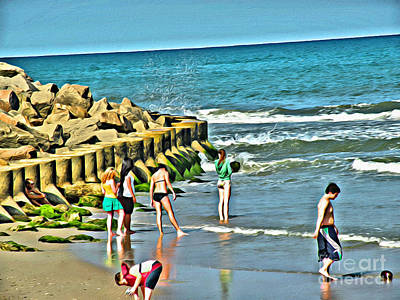 Photograph - Day At The Beach by Scott Hervieux