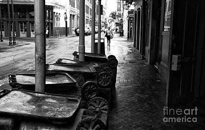 Photograph - Day Begins In Nola Mono by John Rizzuto